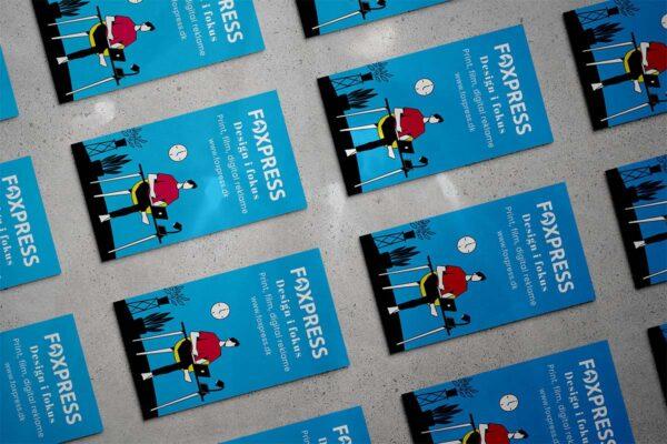 Visitkort til firmaer