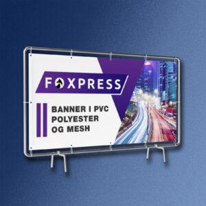 bannere til udendørs brug - stillads banner