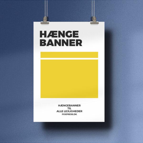 Haenge banner - hænge banner print
