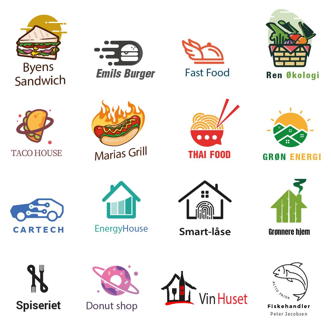 Billige logoer Foxpress