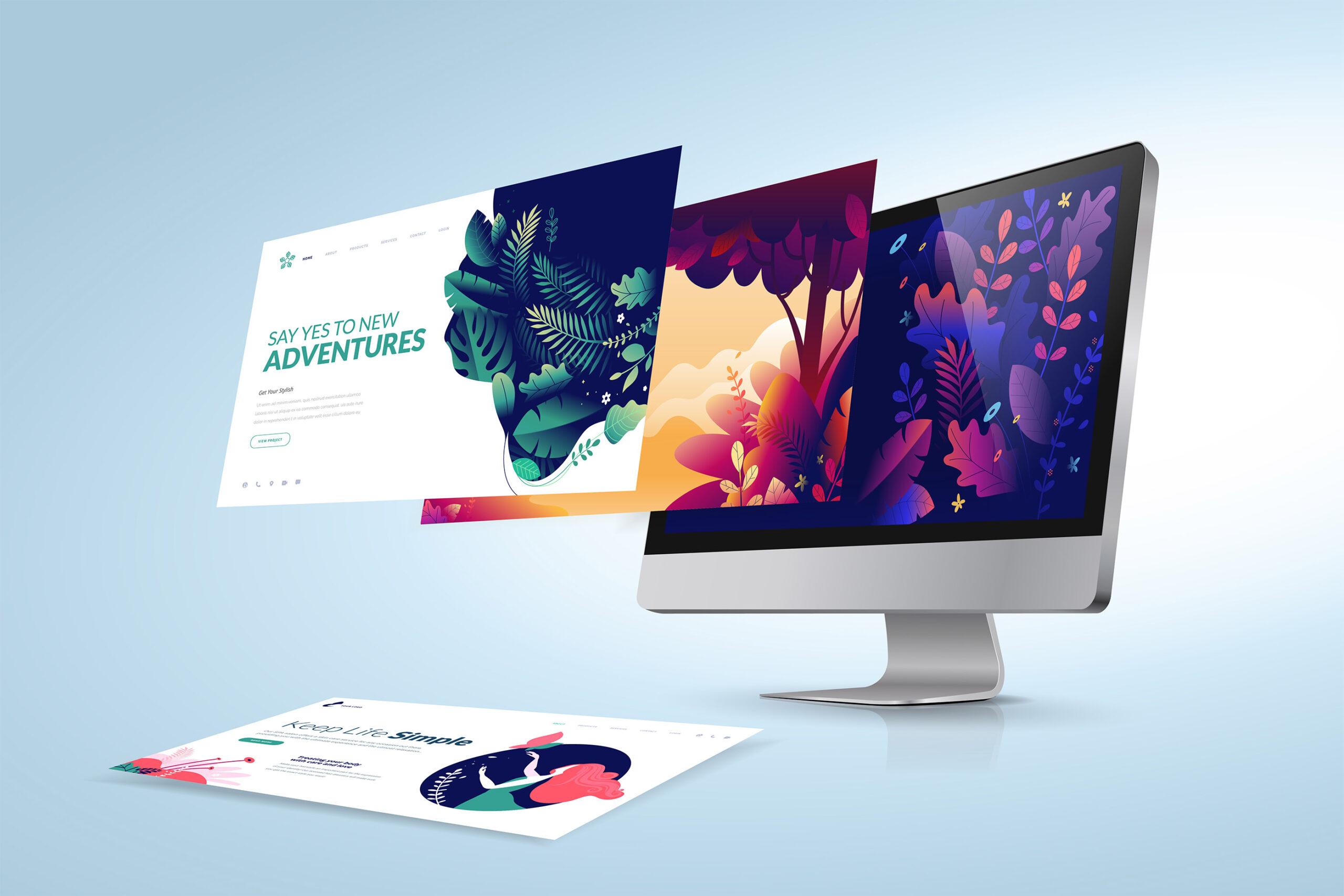 Billig hjemmeside design