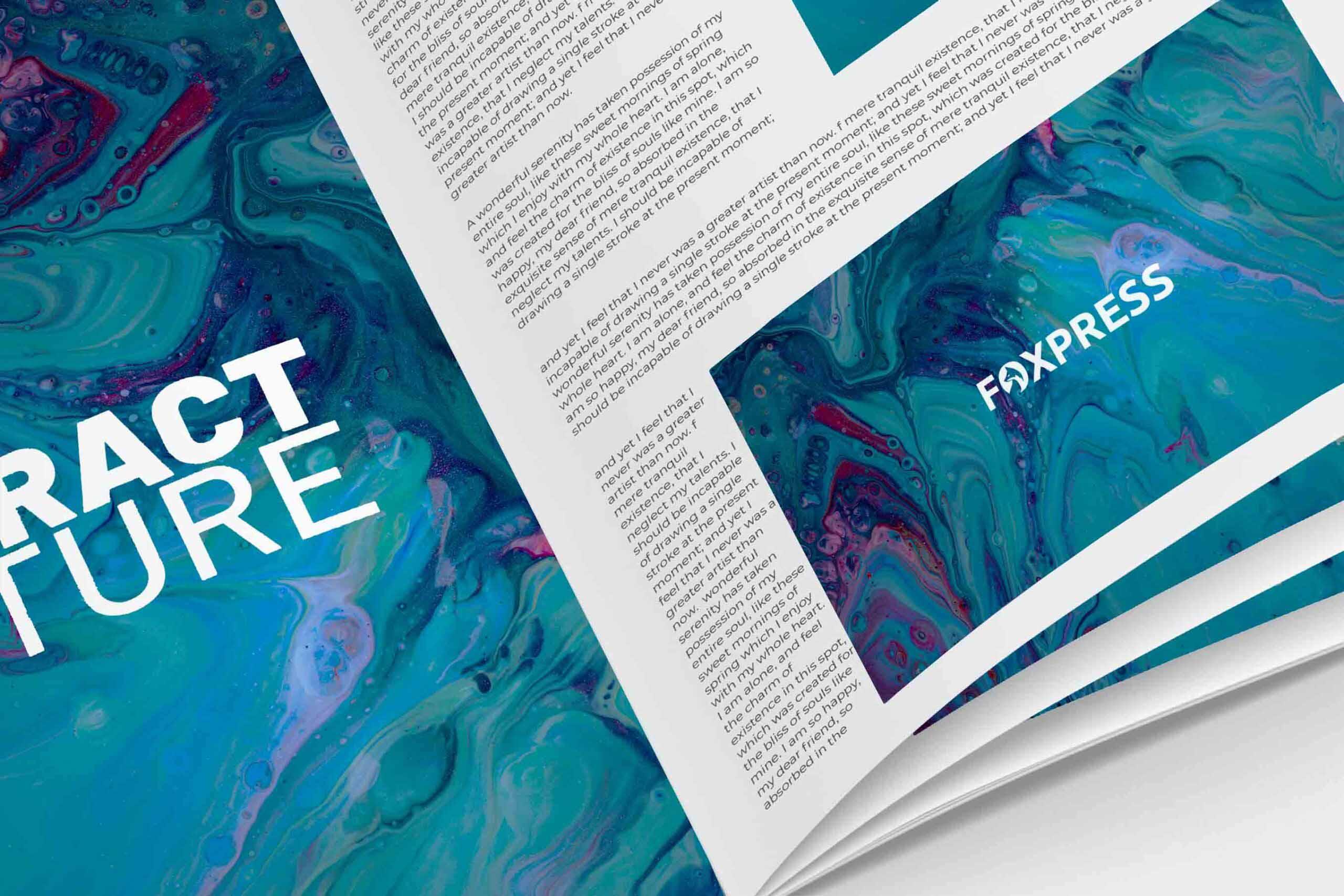 Foxpress design print, hjemmesider og digital design